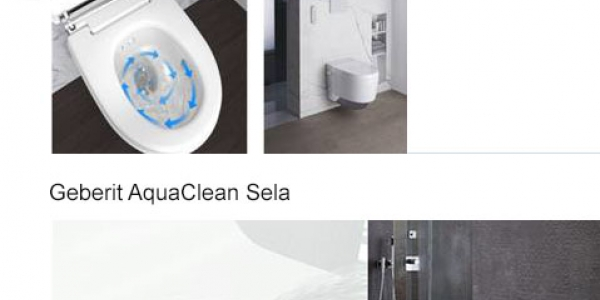 Nieuw: Geberit AquaClean Mera & Sela