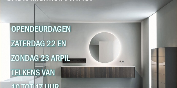 OPENDEURDAGEN APRIL 2017