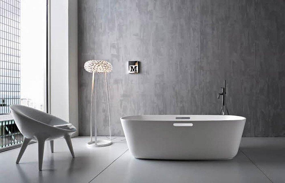 Creëer een industriële uitstraling met beton cire in uw badkamer