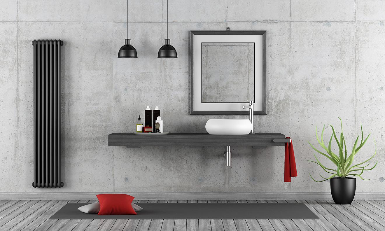 Mortex Badkamer Onderhoud : Creëer een industriële uitstraling met beton cire in uw badkamer